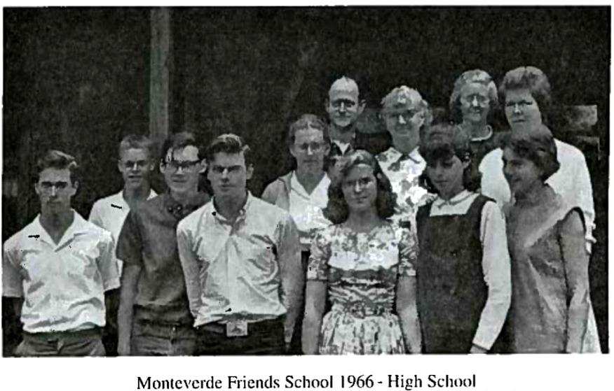Monteverde Friends School 1966
