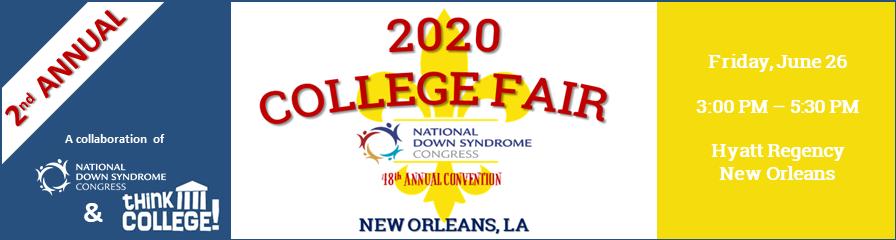 2020 College Fair Banner