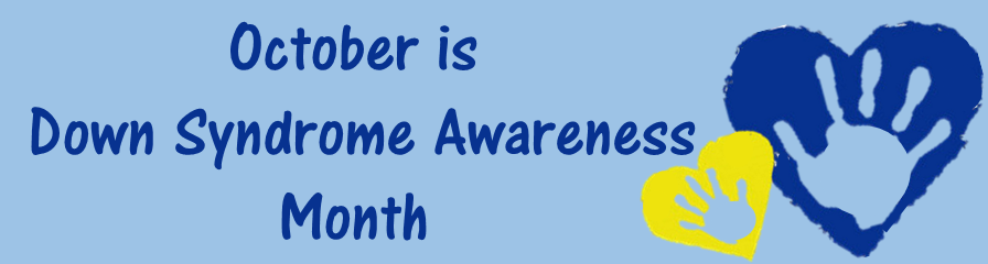 Oct is DS Awareness Month Banner