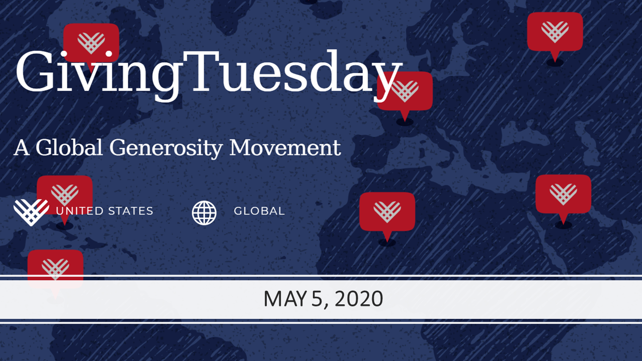 #GivingTuesdayNOW campaign 2020