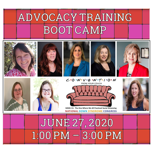 Advocacy Training Boot Camp Video Graphic