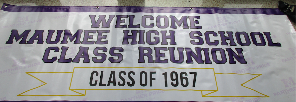 Banner for MHS Reunions
