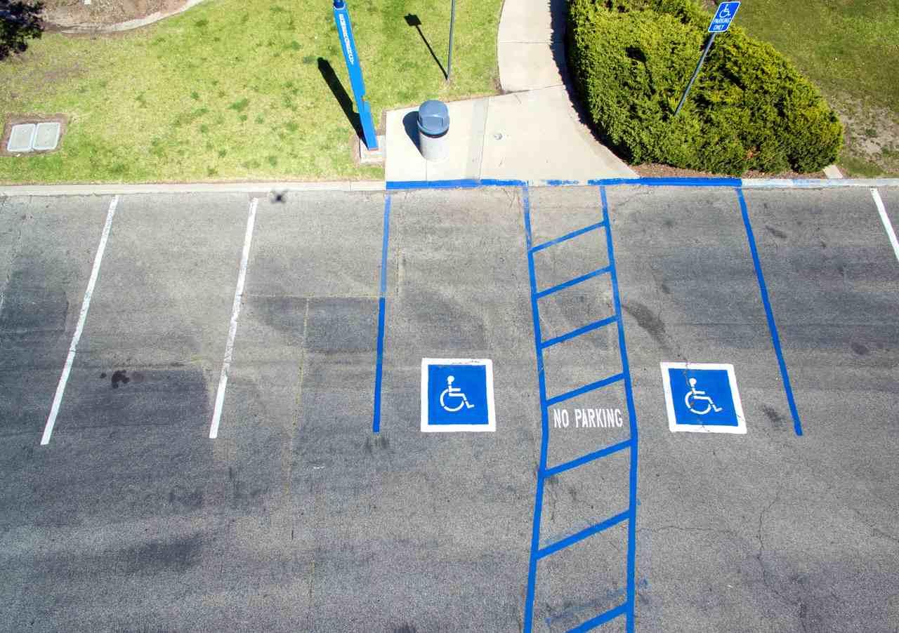 vagas de estacionamento reservadas para idosos