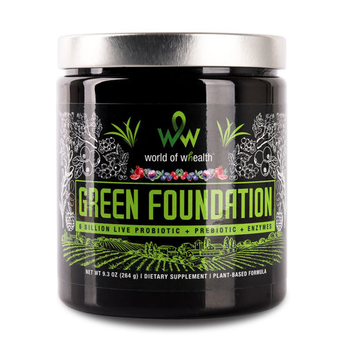 Green foundation front