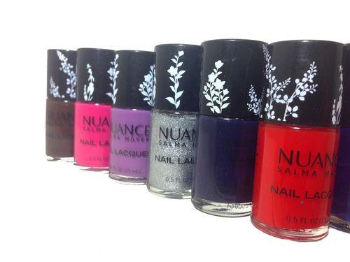 Nuance by salma hayek nail polish1