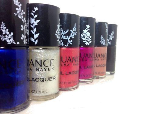 Nuance by salma hayek nail polish2