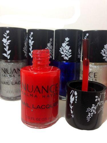 Nuance by salma hayek nail polish3