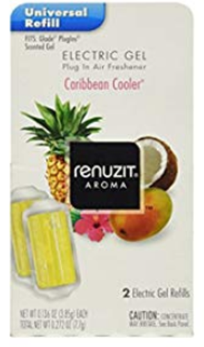Renuzit gel electric refill  caribbean cooler  2 pk