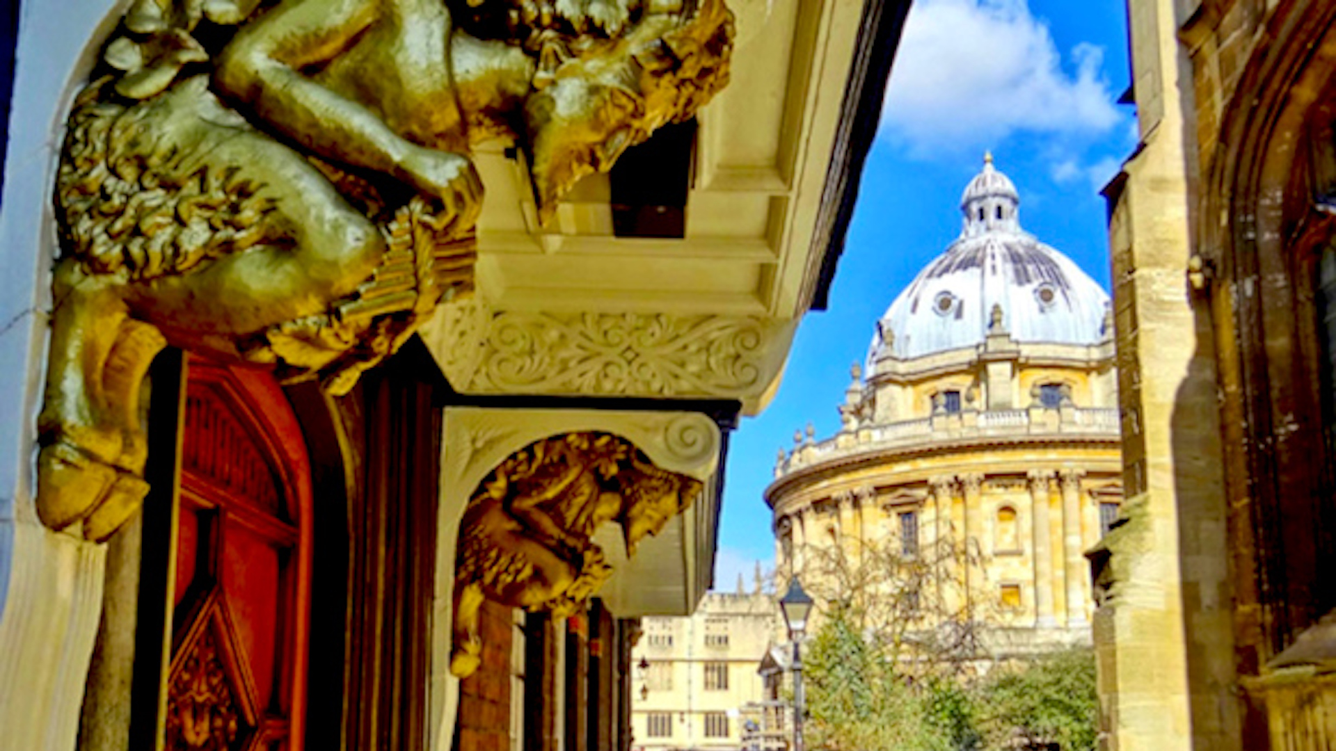 Oxford UK - Narnia Door
