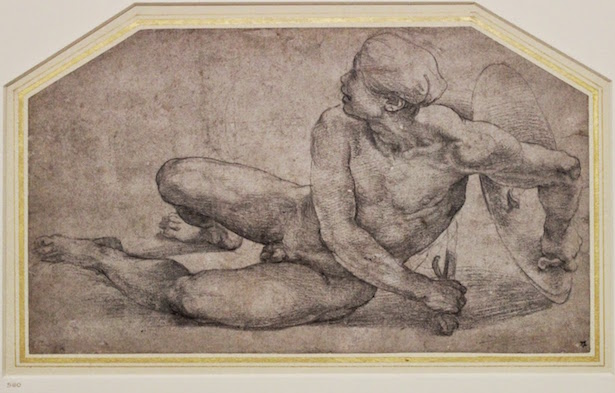 Raphael Drawing at Ashmolean Museum