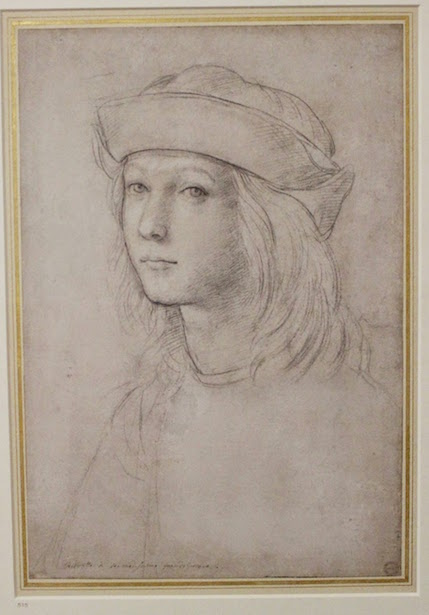 Self Portrait Drawing of Raphael