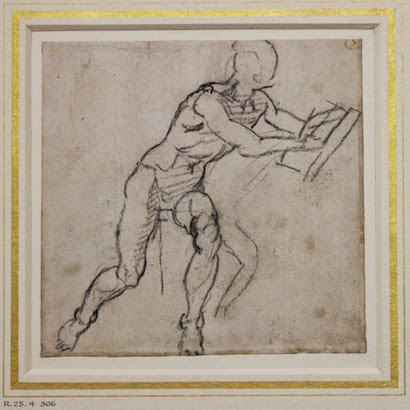 Michelangelo Drawing at the Ashmolean