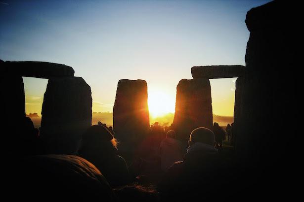 Sunrise at Stonehenge