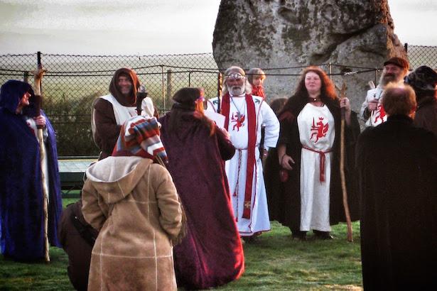 Handfasting Ceremony at Stonehenge