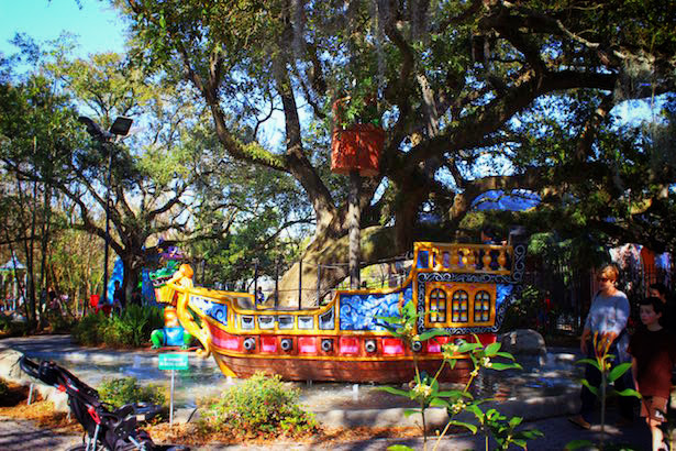 New Orleans City Park Storyland