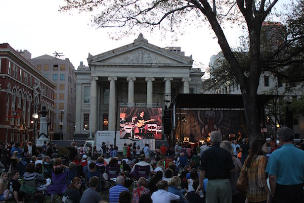 New Orleans Wednesday at the Square