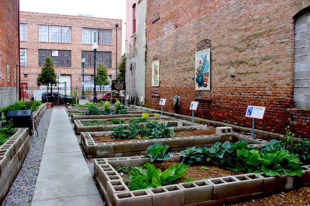 The National World War II Museum in New Orleans Victory Garden