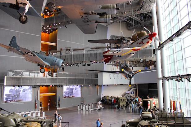 The National World War II Museum in New Orleans Planes