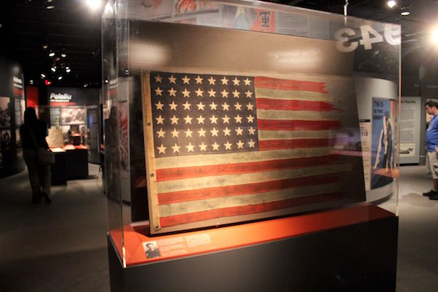 The National World War II Museum in New Orleans:  USA Flag