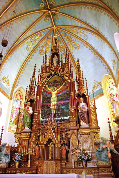 Painted Churches - St. Mary's of High Hill