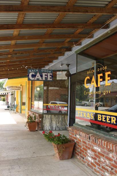 Smithville Texas - BackDoor Cafe