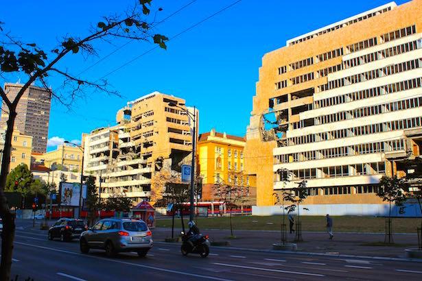 Serbia.Belgrade.NatoBombing