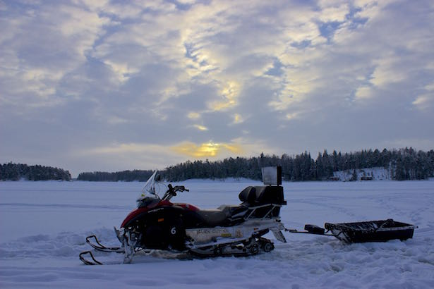 Finland.HelsinkiSecret.Snowmobile