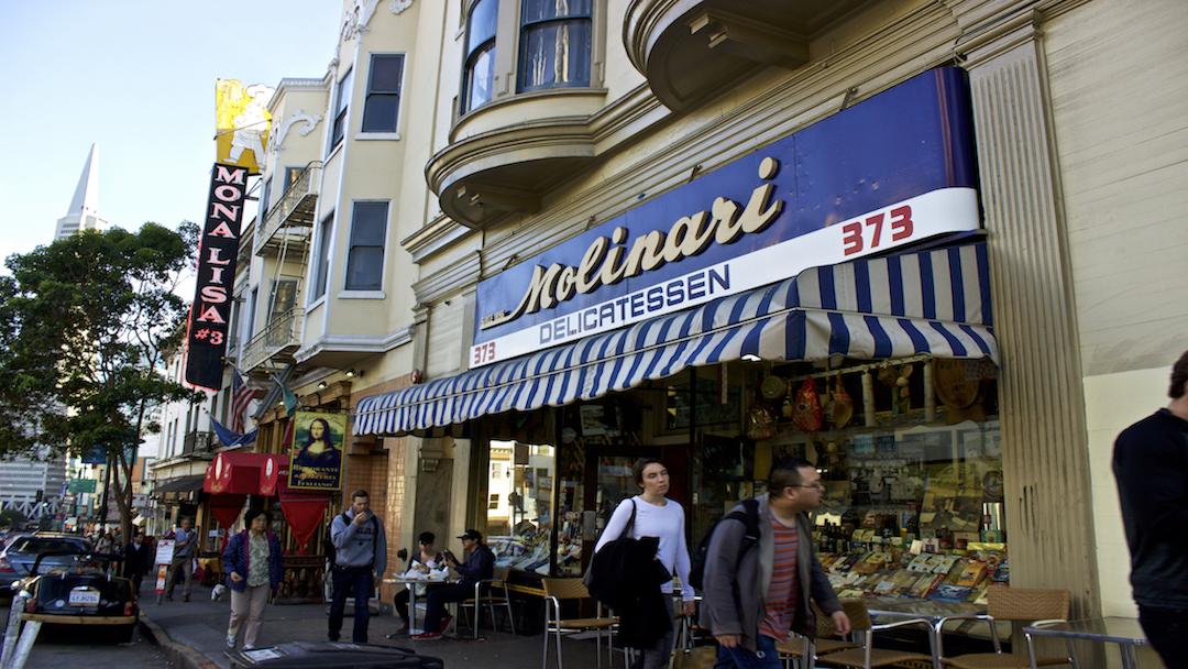 San Francisco's North Beach / Little Italy Walking Food Tour