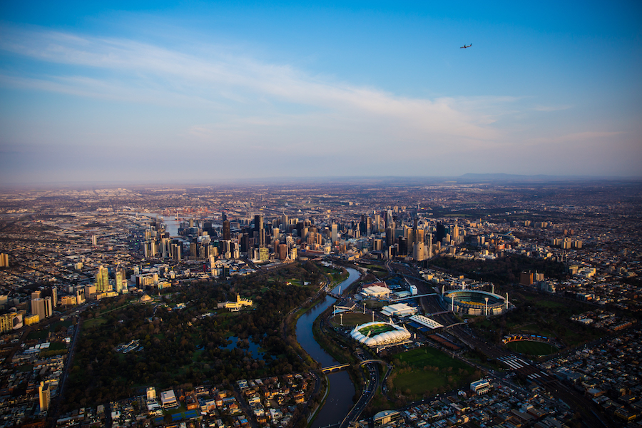 Hot Air Ballooning in Melbourne Australia
