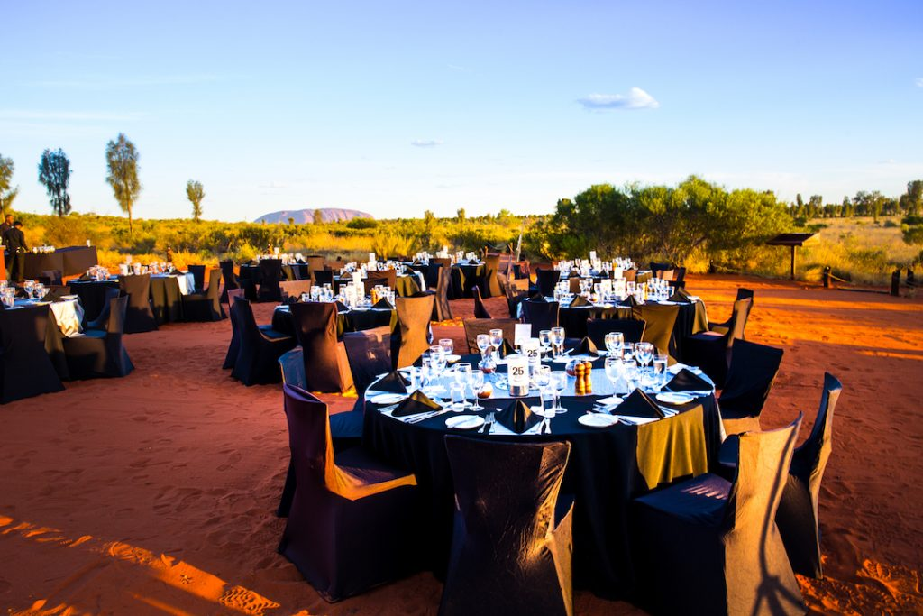 Australia - Ayers Rock Resort - Sound of Silence Dining Experience