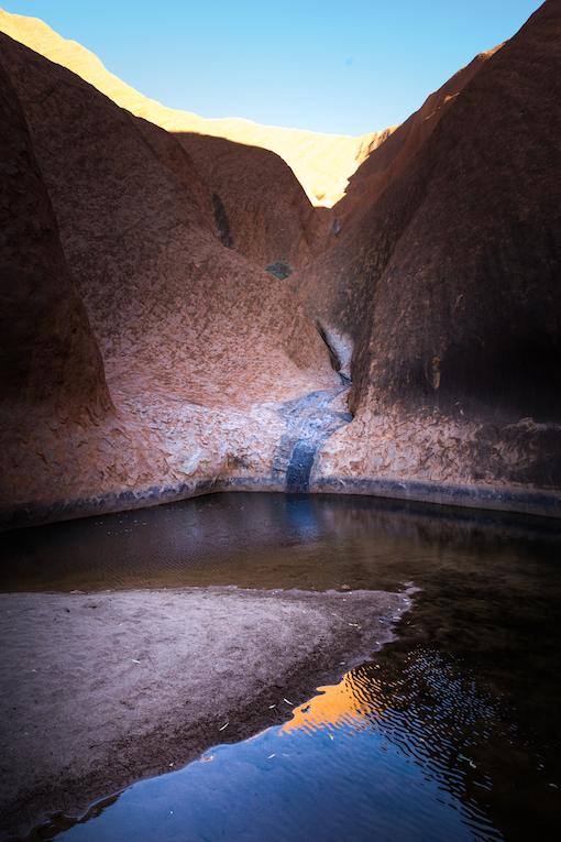 Australia Uluru-Kata Tjuta National Park - Mutitjulu waterhole