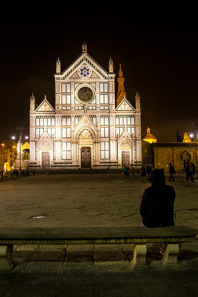 Florence Italy by Night