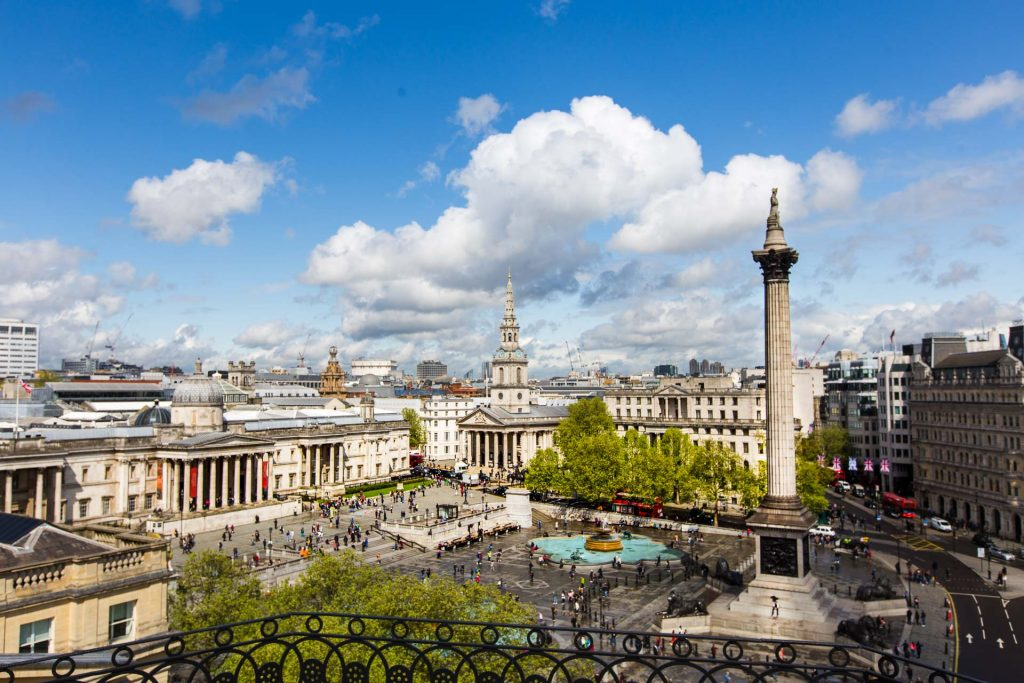 BlueSkyTraveler.London.TrafalgarSquare