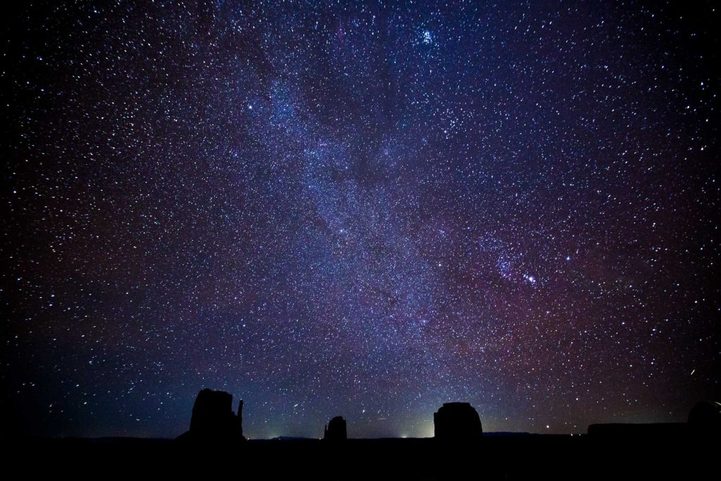 Night Skies in Monument Valley