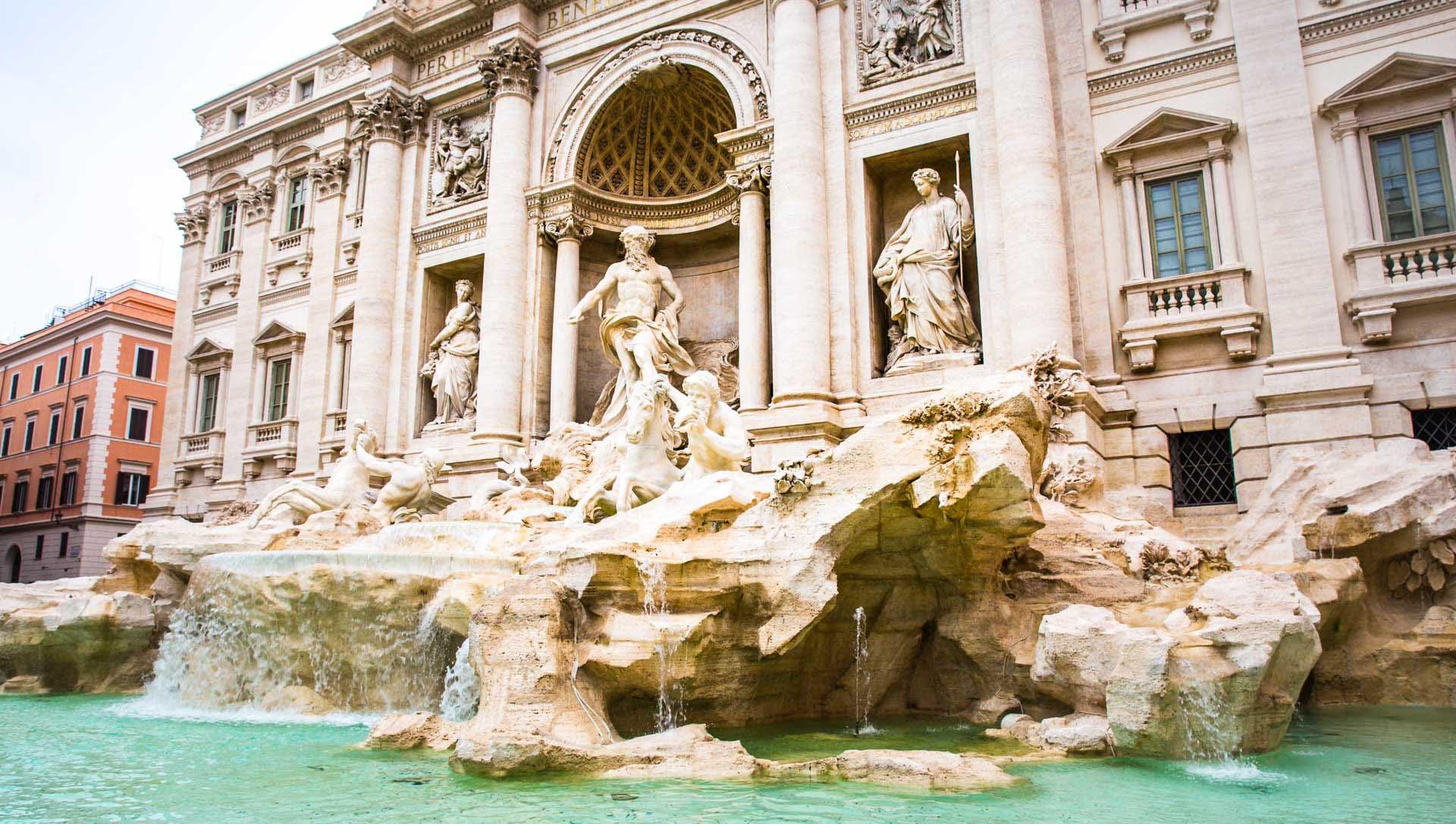 Italy Rome Trevi Fountain