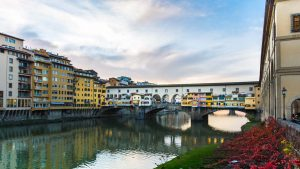 Italy Tuscany Florence - Ponte Vecchio