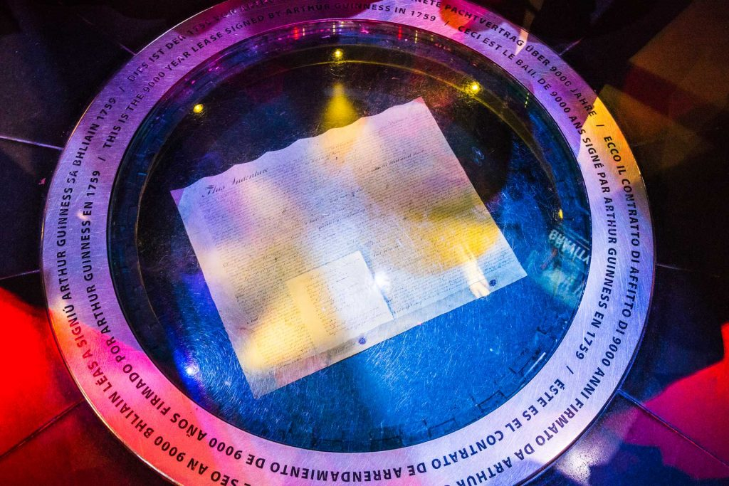 Guinness Storehouse - 9,000 year Lease