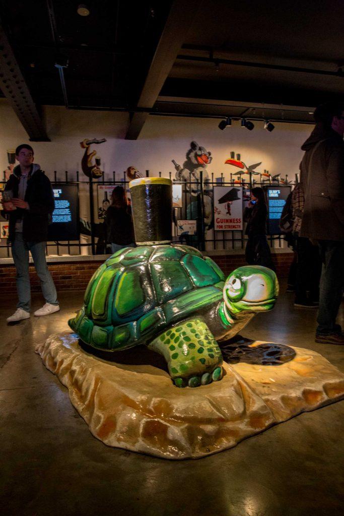 Guinness Storehouse - Turtle