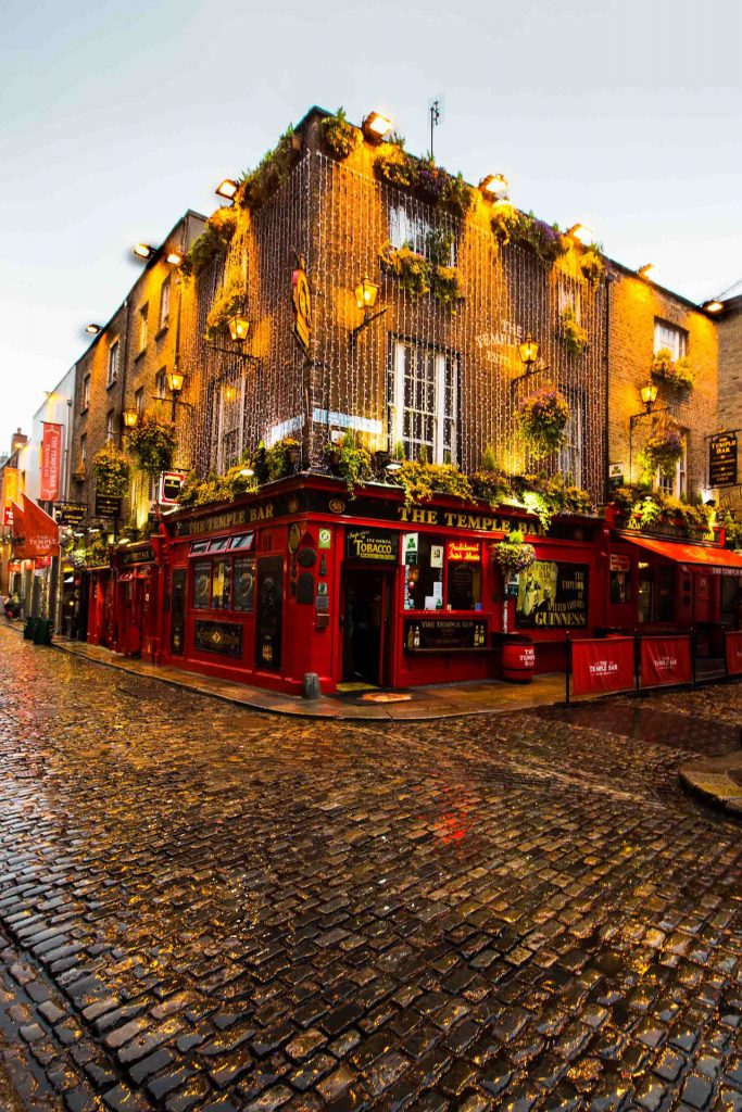 Ireland Dublin - Temple Bar
