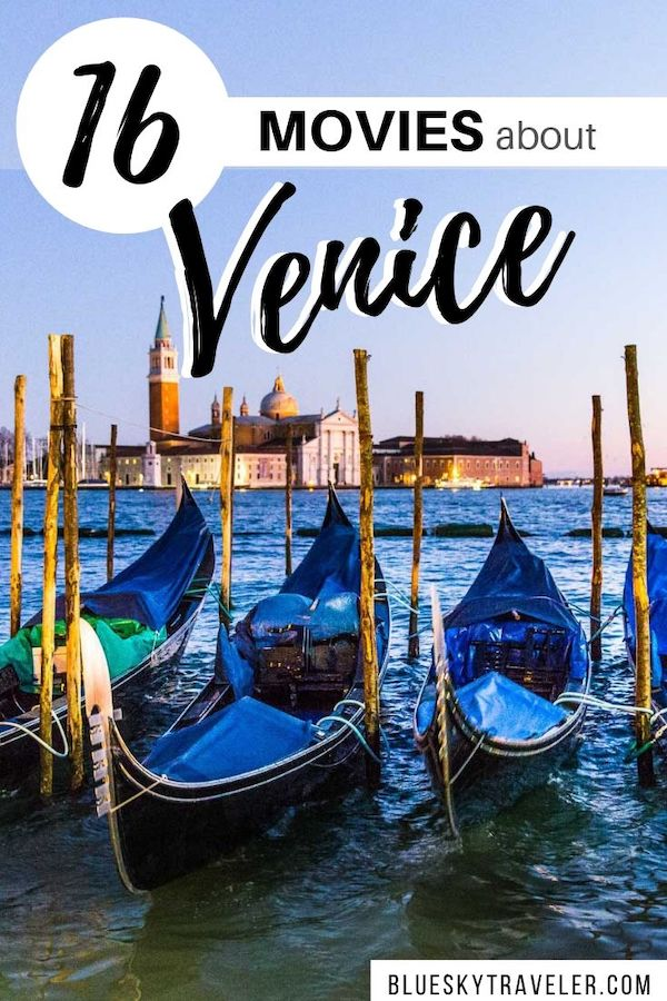 Movies in Venice to Watch before your Trip