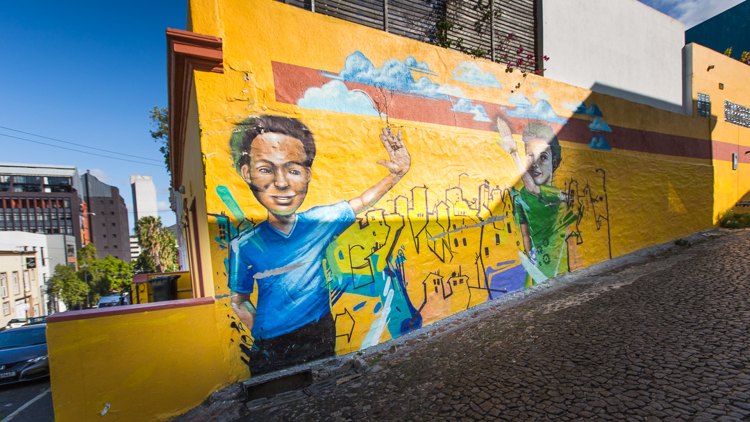 South Africa BoKaap Mural