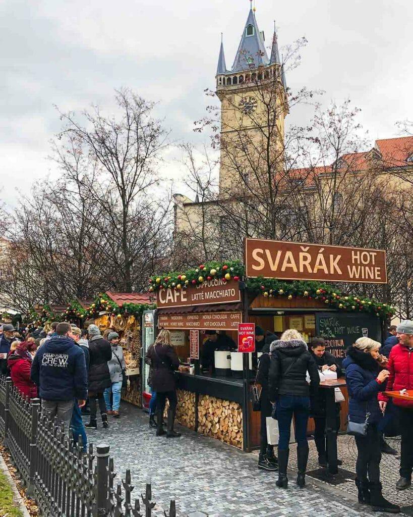 Christmas Markets Prague - Svarak - Hot Mulled Wine