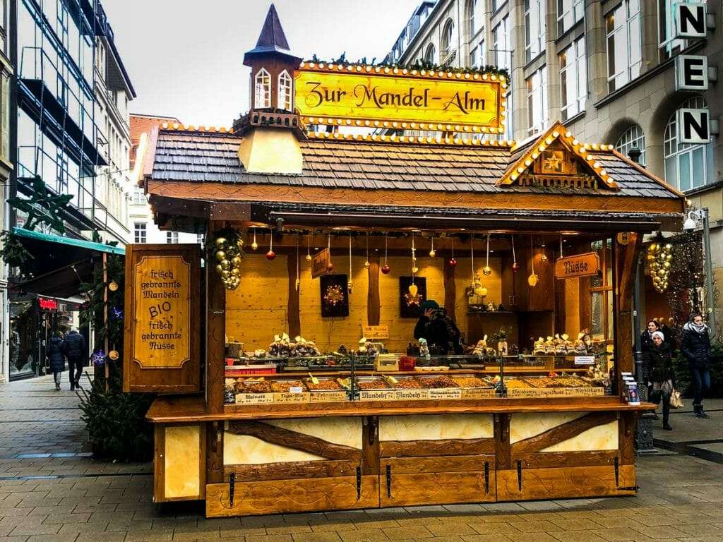 Christmas Markets - Candied Nuts