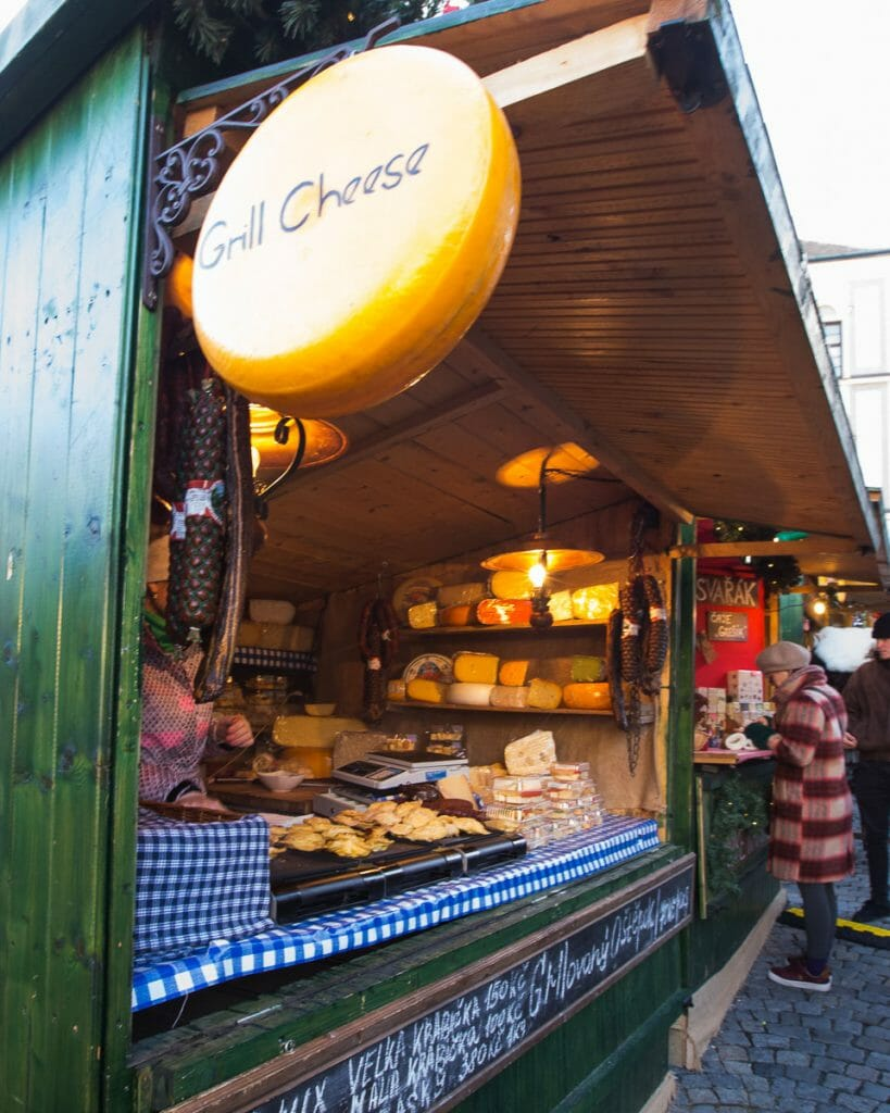 Christmas Markets - Cheese