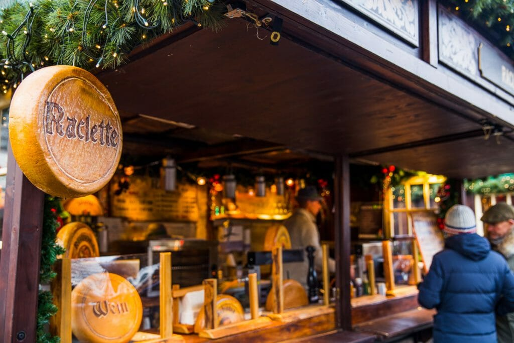 Christmas Markets - Raclette