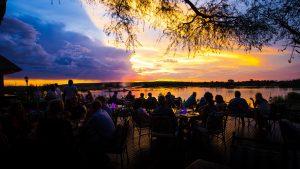 Zambia Sundowner at Royal Livingstone Resort