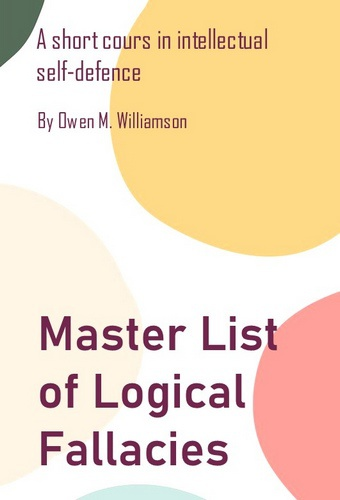 Master List of Logical Fallacies