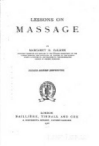 Lessons on Massage