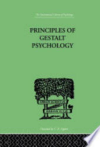 The Principles of Gestalt Psychology