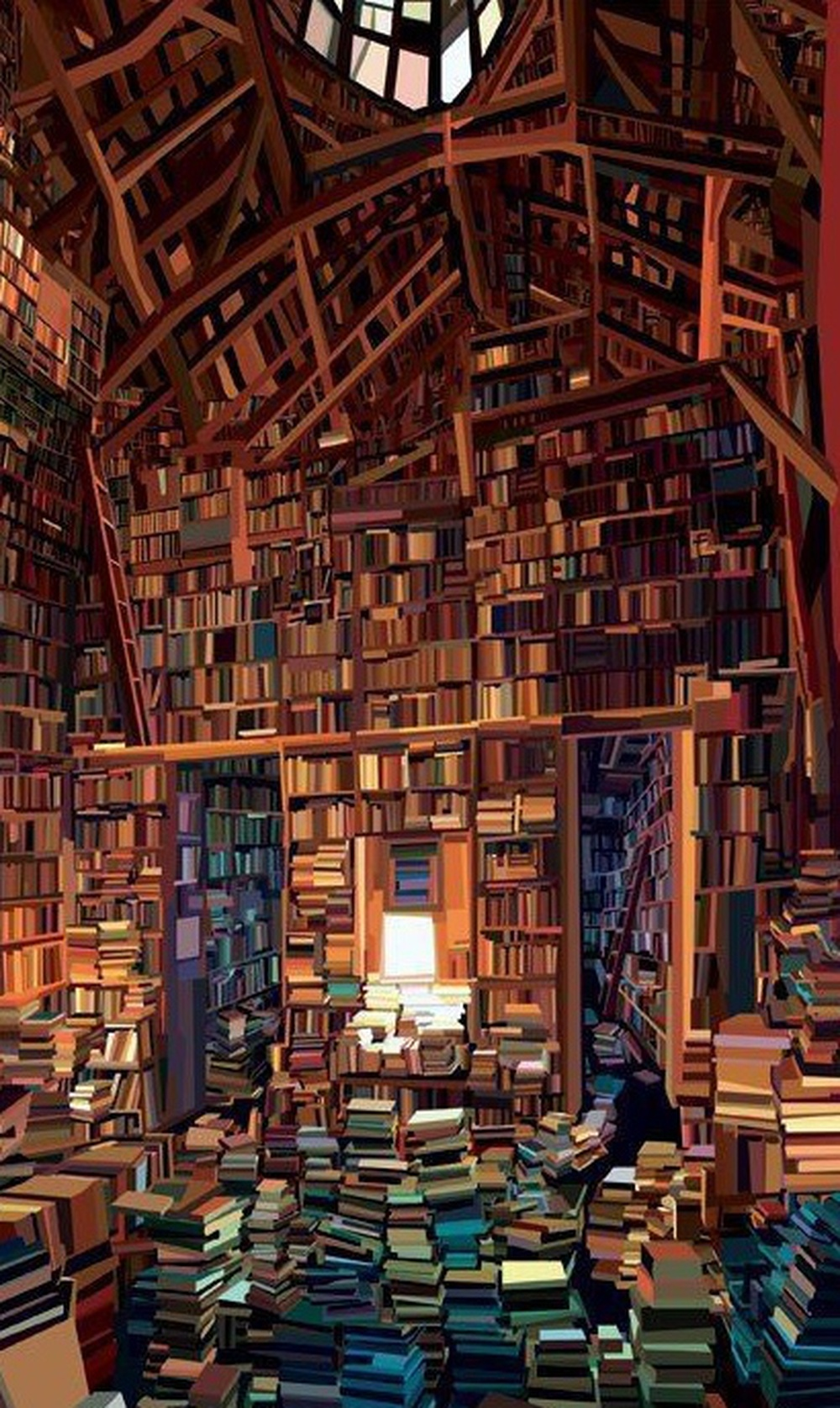 Being around books makes it very easy them to be a big part of your life